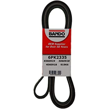 Bando 6PK2335 OEM Quality Serpentine Belt by Bando USA