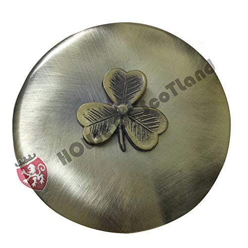 House Of Scotland Scottish Kilt Fly Plaid Brooch Various Design Antique Finish/Highland Celtic Pins & Brooches (Irish Shamrock Pin Brooch)