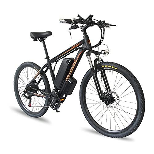 Bici Elettriche 1000W Mountain Bike 29' con Batteria al Litio Rimovibile da 48 V 17.5Ah Cambio Shimano - 21 Velocità, Bici Elettrico, Ricarica Chilometraggio Fino a 50-80 km [EU Warehouse]