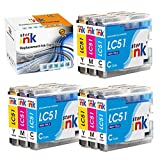 Starink Compatible Ink Cartridge Replacement for Brother LC51 LC-51 LC51C LC51M LC51Y LC51cl Color Work with MFC-845CW 885CW 240C 3360C 440CN 465CN 665CW 685CW(3 Cyan, 3 Magenta, 3 Yellow, 9-Pack)
