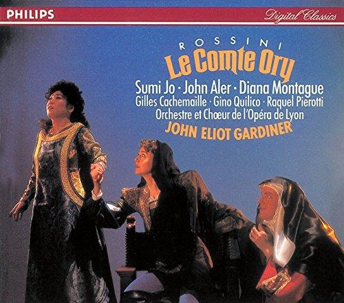 Rossini - Le Comte Ory / Jo · Aler · Montague · Cachemaille · Quilico · Pierotti · Orchestre et Choeur de l\'Opéra de Lyon · Gardiner