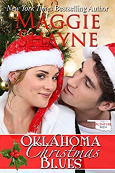 Oklahoma Christmas Blues (The McIntyre Men Book 1) by [Maggie Shayne]