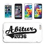 Reifen-Markt Funda compatible con Samsung Galaxy S3 Mini Abitur 2036 con cierre escolar, diseño de...