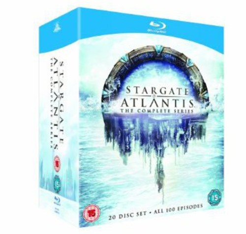 Stargate Atlantis: The Complete Series [20 Blu-rays] [UK Import]