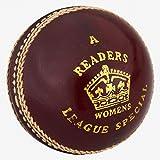 Readers League Special, Bola de críquet de 5 onzas (5 onzas), Rojo, para...
