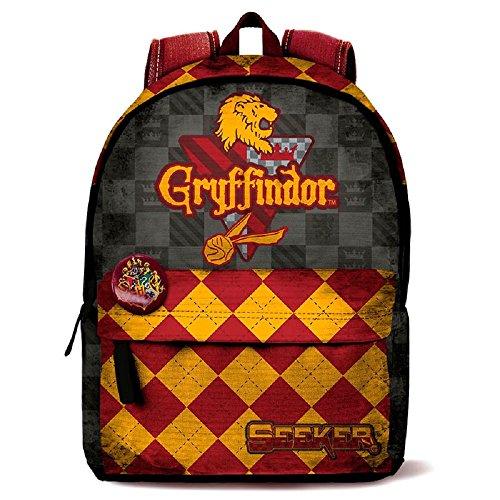 Mochila Harry Potter Quidditch Gryffindor 42cm