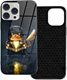 Pokemon Pikachu - Carcasa para iPhone 12, diseño de Adam, color negro