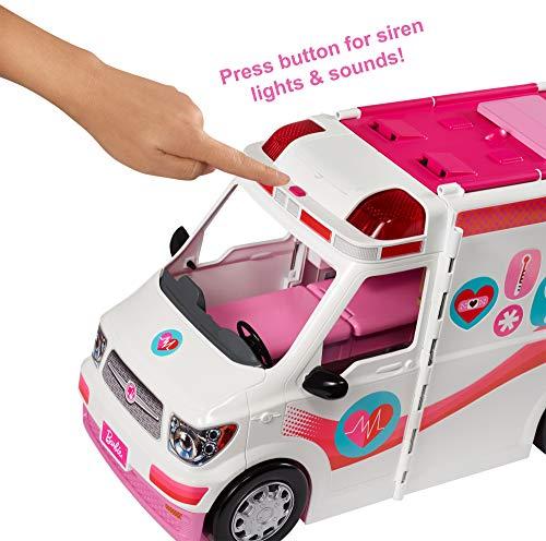 Ambulance de Secours Clinique Soins Médical Barbie - 15
