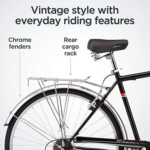 51Tt8yrZ31L。 SL500 Schwinn Discover Hybrid Bike for Men and Women