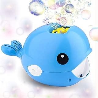 SUUYOO Bubble Machine, Automatic Whale Bubble Blower for Kids, Bubble Maker Over 2000 Bubbles per Minute Bath Parties Wedding Outdoor Indoor Toys