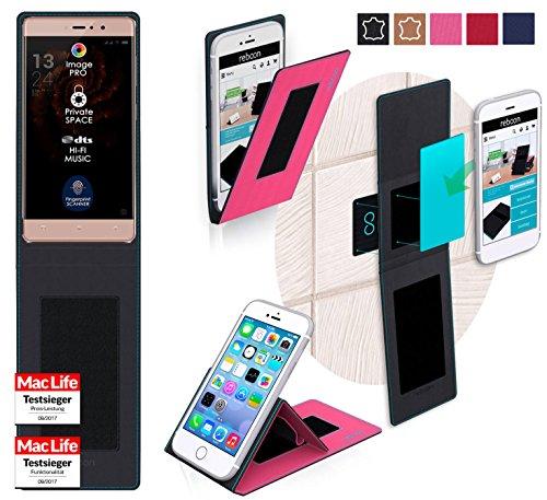 reboon Hülle für Allview X3 Soul Style Tasche Cover Case Bumper | Pink | Testsieger