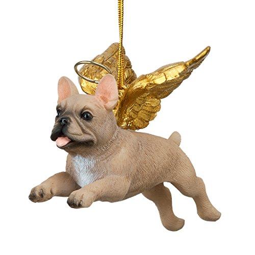 Christbaumschmuck - Ehren Die Pooch Französisch Bulldog Feiertags-Engels-Hundeornamente