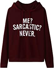 Tops Women's Long Sleeve O-Neck Letter Print Pullover Top