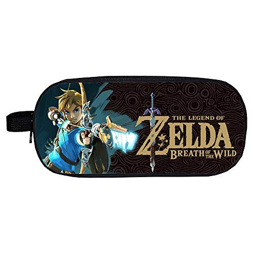 Qushy Legend Of Zelda Pencil Case Pen Bag Storage Bag (B)