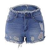 Pantalones Cortos Rasgados del Nuevo Estilo del...