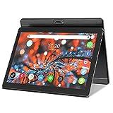 Tablet 10,1 pulgadas Android 8.1, 10,1' 3G phone tablet PC Google GMS 16GB ROM, wifi Bluetooth GPS OTG MIC FM 1280 x 800 IPS pantalla, dos ranuras para tarjetas SIM, 5MP dos cámaras ZONKO tablet negro