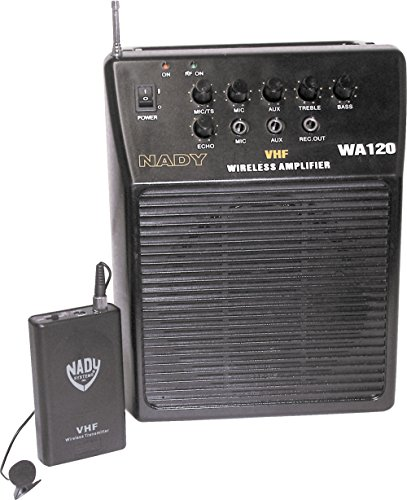 Nady WA-120LT/E Portable PA System with Wireless Omni-Lavalier Mic