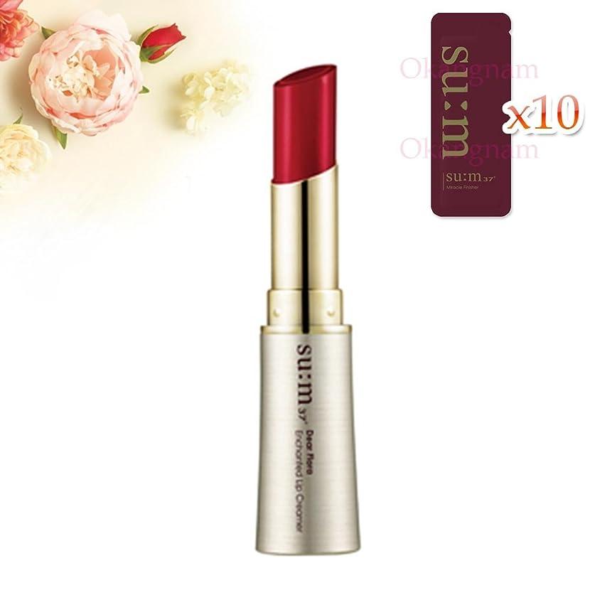マトリックスフィクションうつ[su:m37/スム37°]SUM37 Dear Flora Enchanted Lip Creamer 01Deep Rose Red /DF01 sum37 スム37 ディアフローラ エンチャンテッド リップクリーマー 1号 Deep Rose Red +[Sample Gift](海外直送品)