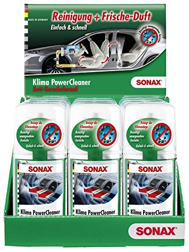 SONAX 12 limpiadores de aire acondicionado / desinfectantes