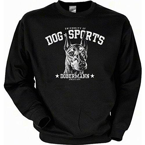 T-Shirt Deal Hunde Dobermann Sweatshirt Gr XL in schwarz