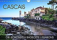 CASCAIS - die schoensten Badeorte Lissabons (Wandkalender 2022 DIN A4 quer): Fotowanderung entlang schoenen Straenden auf der Promenade von Cascais (Monatskalender, 14 Seiten )
