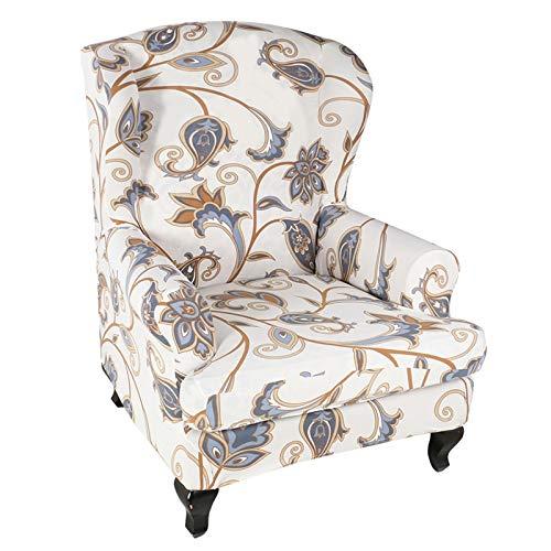 POHOVE Sesselbezug für Sessel, Polyester, Spandex-Stoff, elastische Sessel, Sesselüberzug, Sofabezug