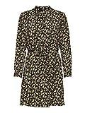 ONLY Damen Onlcory L/S V-neck Tunic Wvn Noos Top, Black 3, M EU