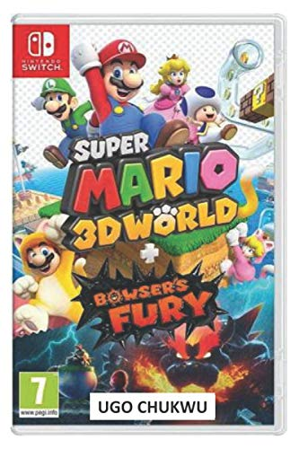 Super Mario 3D World: Super Mario 3D World + Bowser's Fury - Nintendo Switch