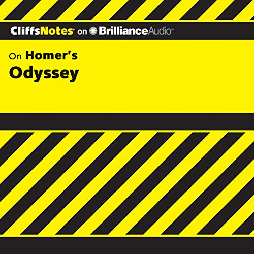 Odyssey: CliffsNotes audiobook cover art