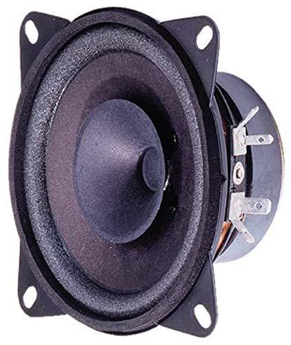 Visaton FR 10 HM 20W Schwarz - Lautsprecher (95-22000 Hz, Schwarz, Verkabelt, -25-70 °C)