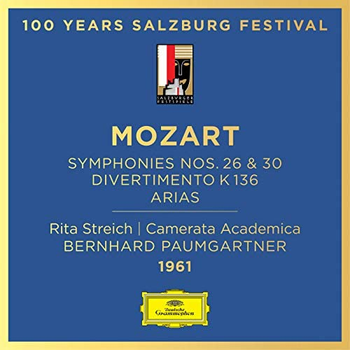 Rita Streich, Camerata Academica des Mozarteums Salzburg & Bernhard Paumgartner