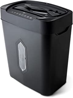 Aurora AU1220XA 12 Sheet Crosscut Paper and Credit Card Shredder with 5.2 gal Wastebasket