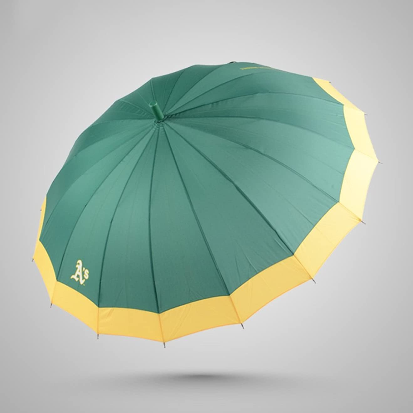 子豚複製感じ16スケルトンフラットサイド傘長いハンドル傘雨雨増加耐候性傘 ズトイビー (Color : #1)