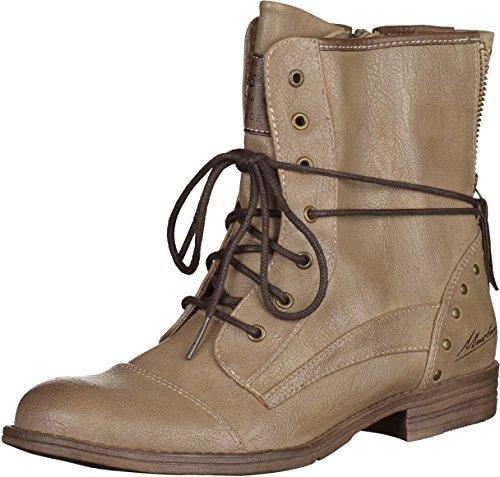 MUSTANG Shoes Boots in Übergrößen Beige 1157-508-318 große Damenschuhe, Größe:45