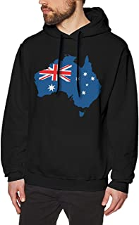 Mens Casual Style Walk Hoodies Print Australia Pride