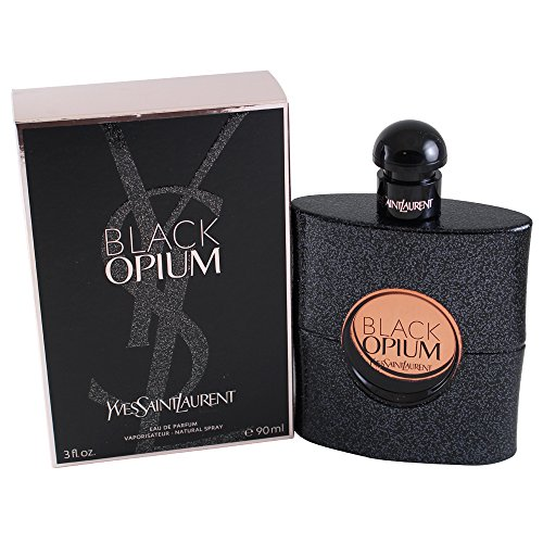 Yves Saint Laurent Eau De Parfum Spray for Women, Black Opium, 3 Ounce