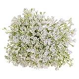 Transwen Gypsophila, Flores Artificiales, Plantas, Bouquet, decoración de Boda, jardín, Oficina, decoración