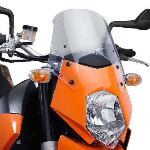Cockpitverkleidung Puig KTM 950 SUPERMOTO SM,SUPEREND. 06-08 leicht getönt 30 % Verkleidungsscheibe