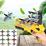 Tuscom 10PCS Bubble Catapult Plane for Kids, 2021 New Hot Toy Bubble Catapult Plane Toy Airplane, One-Click Ejection Model Foam Airplane, Outdoor Sport Glider Fun Toys (Aircraft only) (Multicolor)