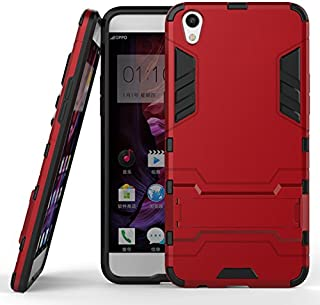 Oppo F1 Plus Hybrid Case, Oppo F1 Plus Shockproof Case, Dual Layer Protection Shock Absorption Hybrid Rugged Case Hard Shell Cover with Kickstand for 5.5'' Oppo F1 Plus [Not fit Oppo F1]