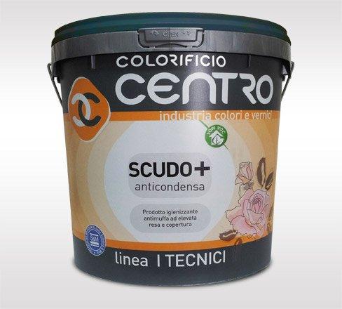 SCUDO+ ANTICONDENSA Pittura Antimuffa Certificata- Colorificio Centro - Lt.4