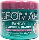 6 x GEOMAR Fango D'Argilla Bianca Per Pelli Delicate 650 Grammi