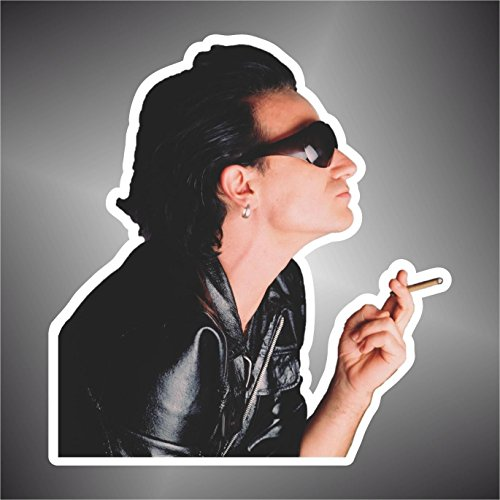 Autocollant U2 Bono achtung baby the fly jazz rock pop sticker