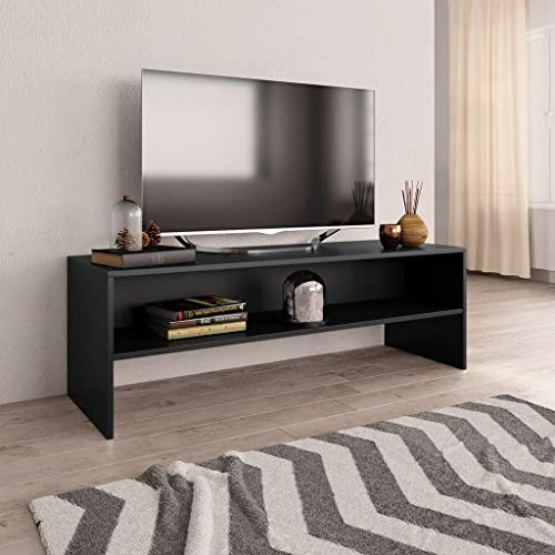 vidaXL Mueble TV Estante Mesa Baja Televisión Aparador Televisor Módulo Diseño Simple...