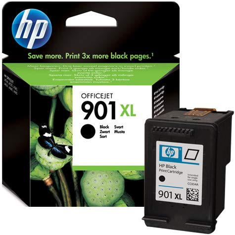 HP CC654AE#UUS - Cartucho de Tinta Negro