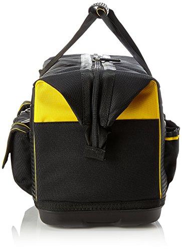 Stanley FatMax Werkzeugtasche / Transporttasche (50x30x29cm, schlagfester Boden, Aufbewahrungstaschen im Inneren, große Öffnung für leichten Zugang, aus robustem Material) FMST1-71180 - 3