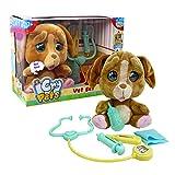 Giochi Preziosi - Emotion Pets Cry Pets Veterinario Set Deluxe Peluche Interactivo, 22 cm, MTC01000