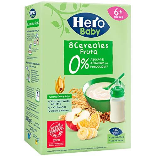 Hero Babynatur - Cereales Y Frutas 340 g