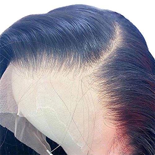 13X6 HD Lace Front Wigs Straight Pre Plucked with Baby Hair Natural Hairline 150% Density Human Hair wigs for Black Women Ms Sunlight Natural Color Brazilian Virgin Human Hair wigs(20 inch)