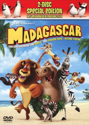 Madagascar (Special Edition, 2 DVDs)
